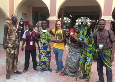 Jonny M - Besuch in Togo