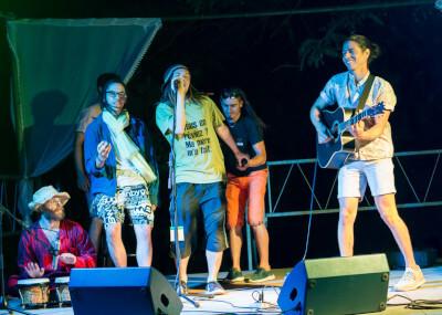 Jamming auf der Bühne