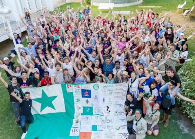 Die Teilnehmer des IJK in Spanien